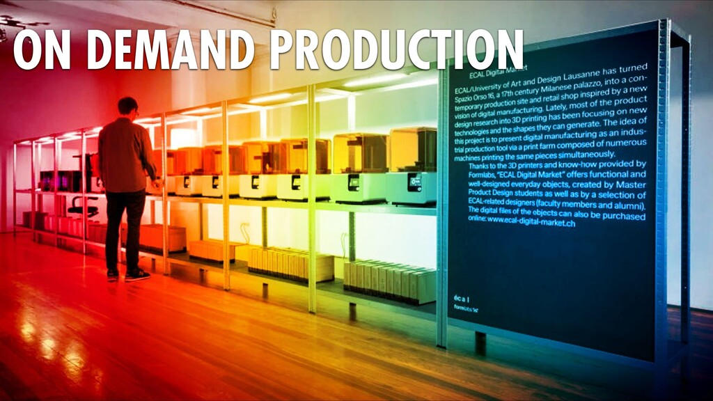 ON DEMAND PRODUCTION