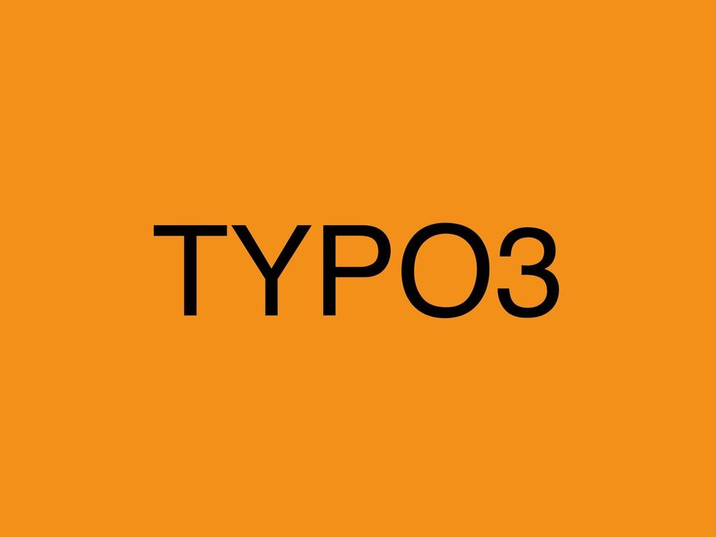 TYPO3