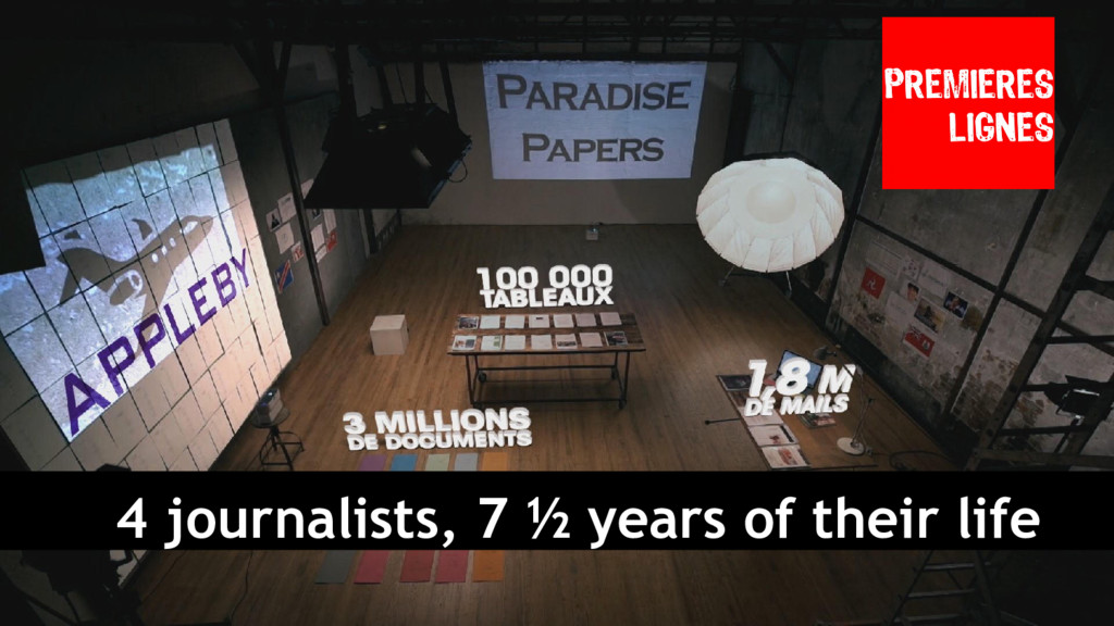 4 journalists, 7 ½ years of their life