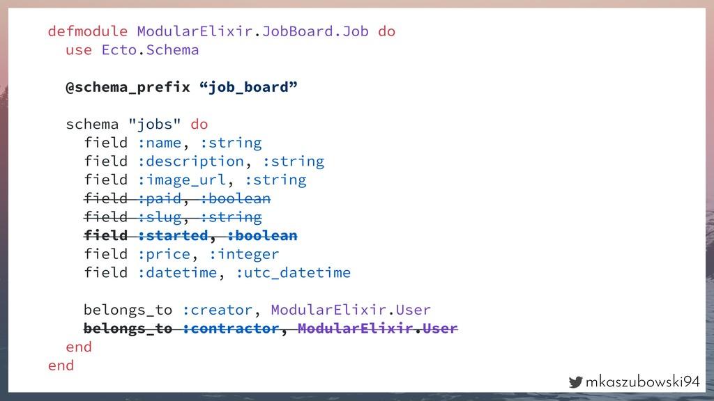 mkaszubowski94 defmodule ModularElixir.JobBoard...