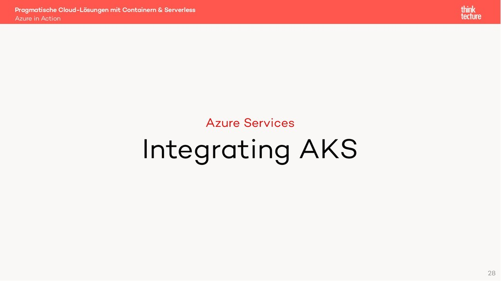 Azure Services Integrating AKS Azure in Action ...