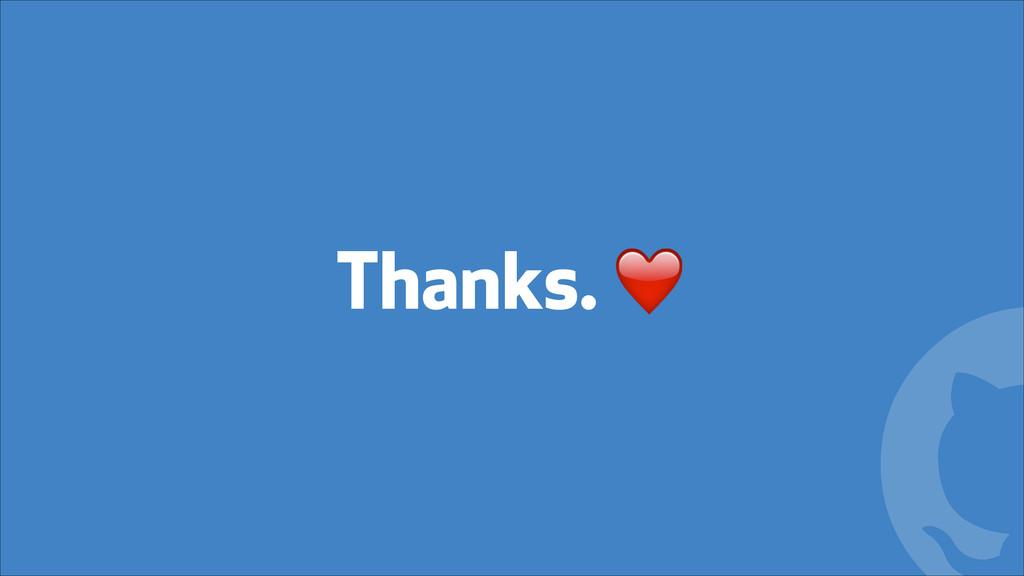 ! Thanks. ❤️