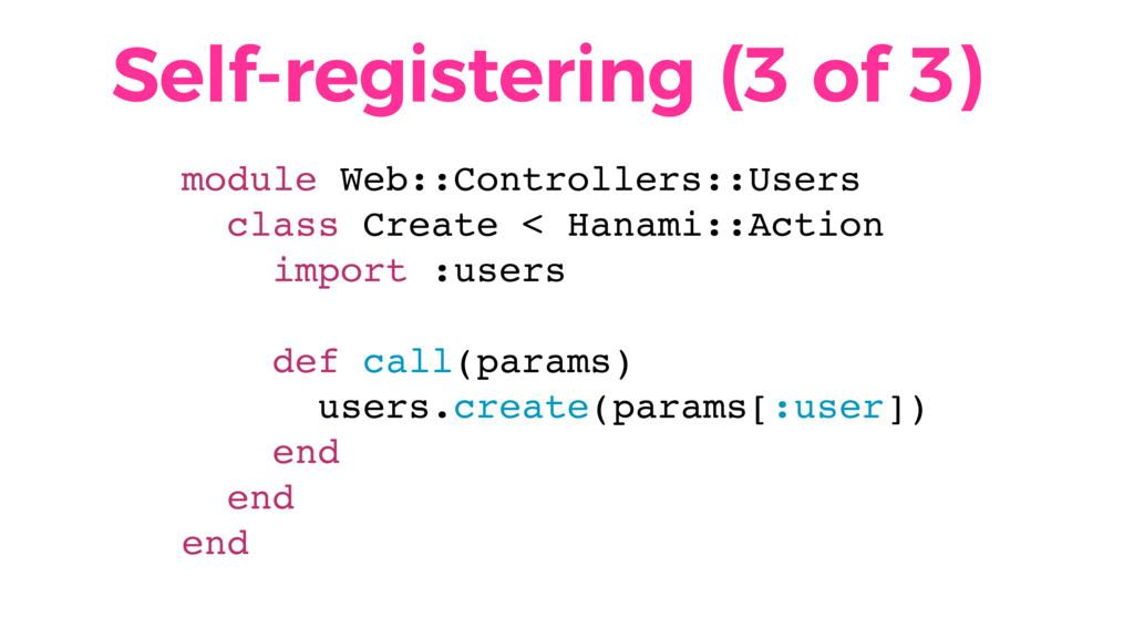 Self-registering (3 of 3) module Web::Controlle...