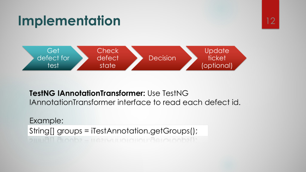 Implementation TestNG IAnnotationTransformer: U...
