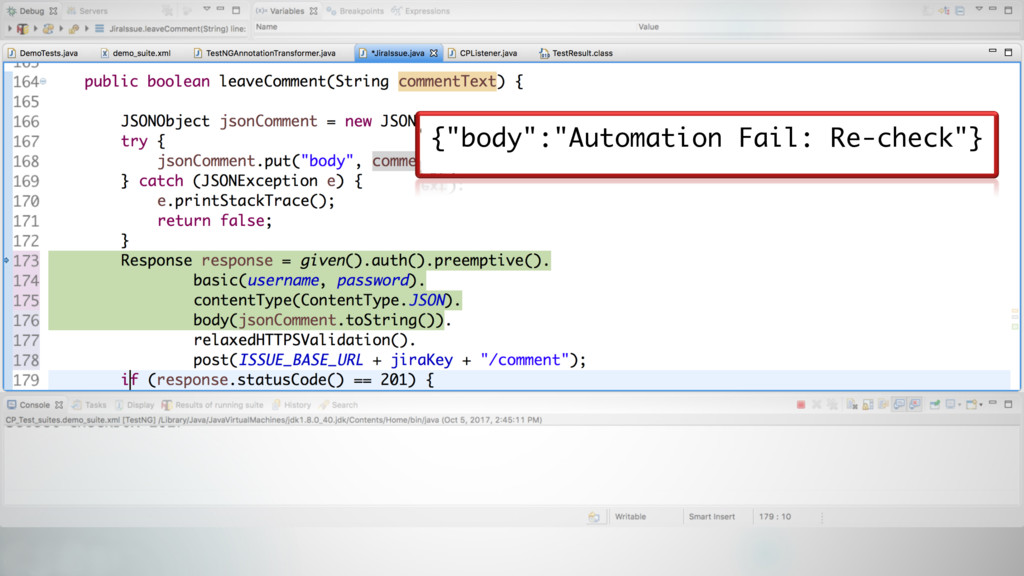 """51 {""""body"""":""""Automation Fail: Re-check""""}"""