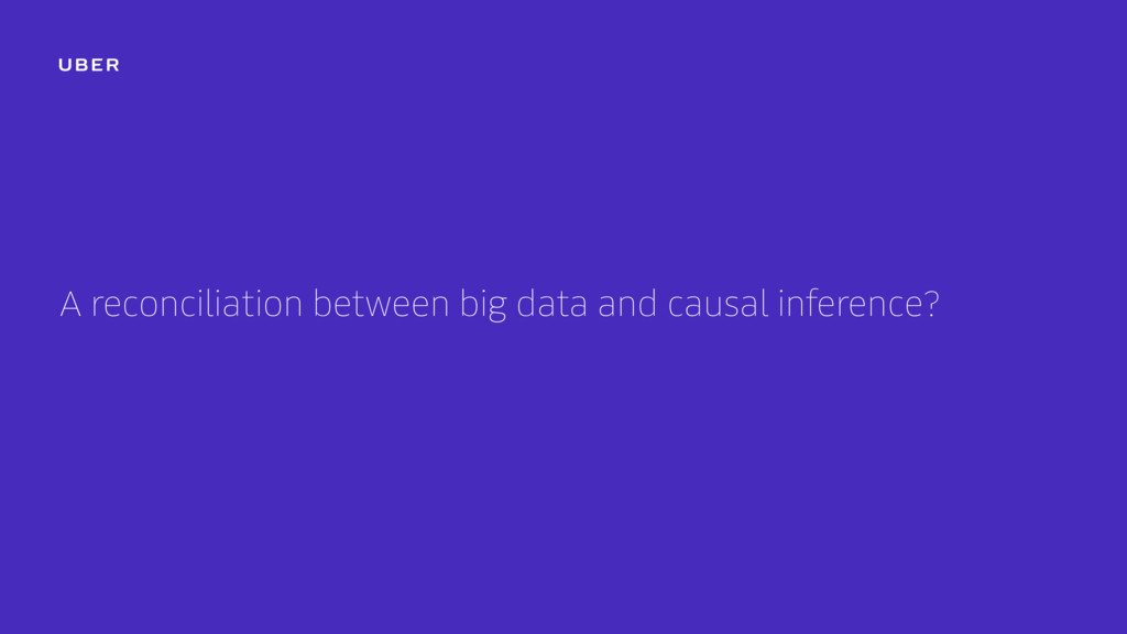 A reconciliation between big data and causal in...
