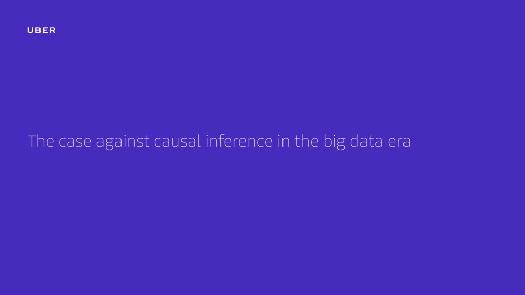 The case against causal inference in the big da...