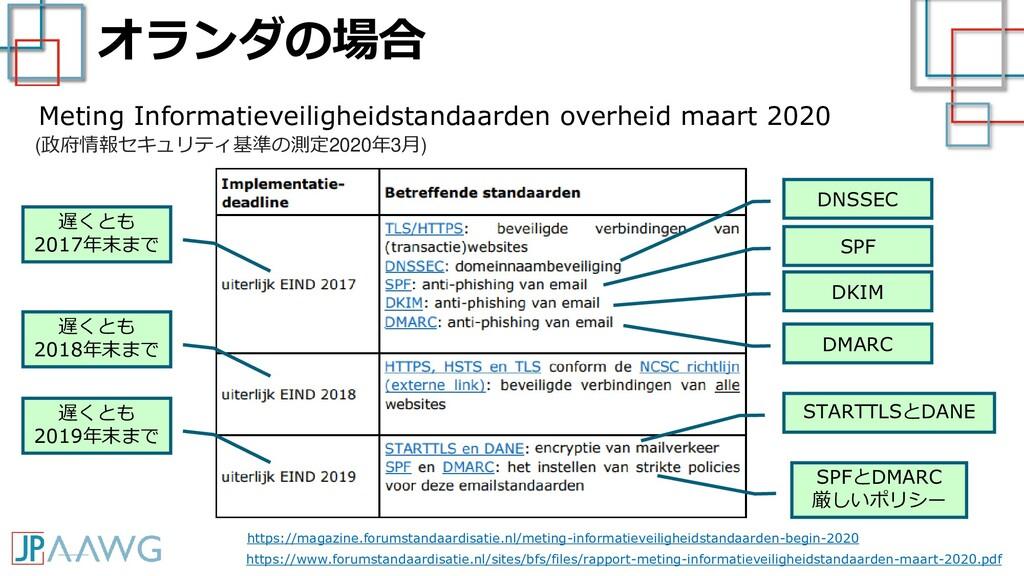 オランダの場合 https://magazine.forumstandaardisatie.n...