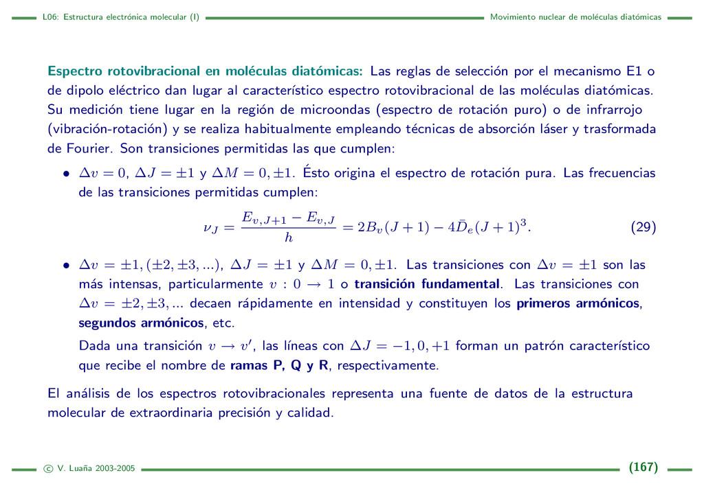 L06: Estructura electr´ onica molecular (I) Mov...