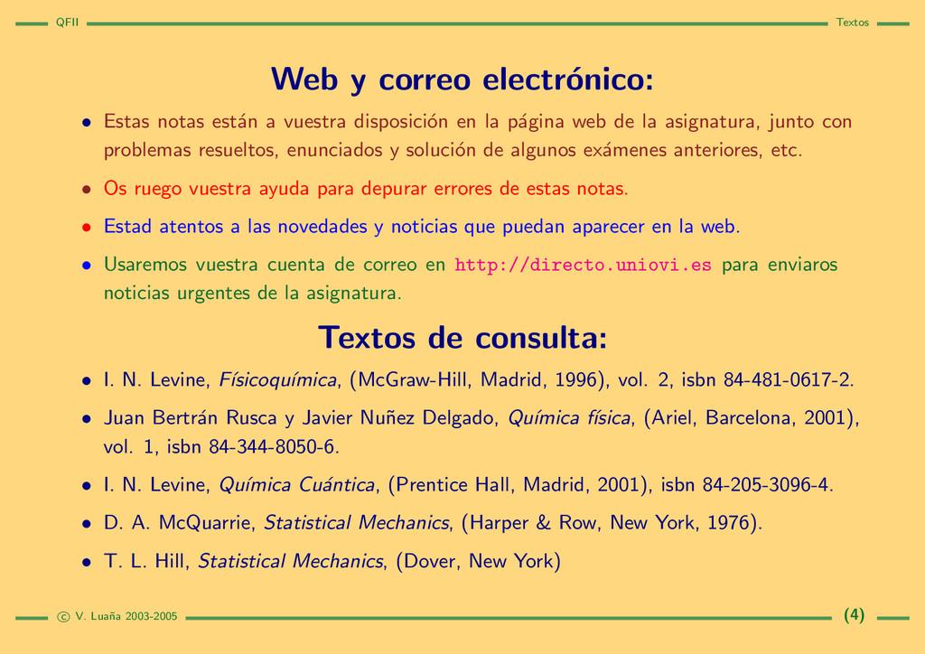 QFII Textos Web y correo electr´ onico: • Estas...
