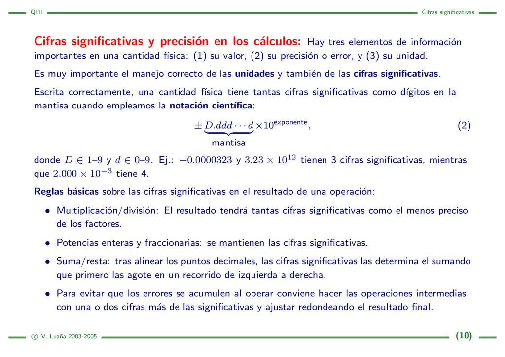 QFII Cifras significativas Cifras significativas ...