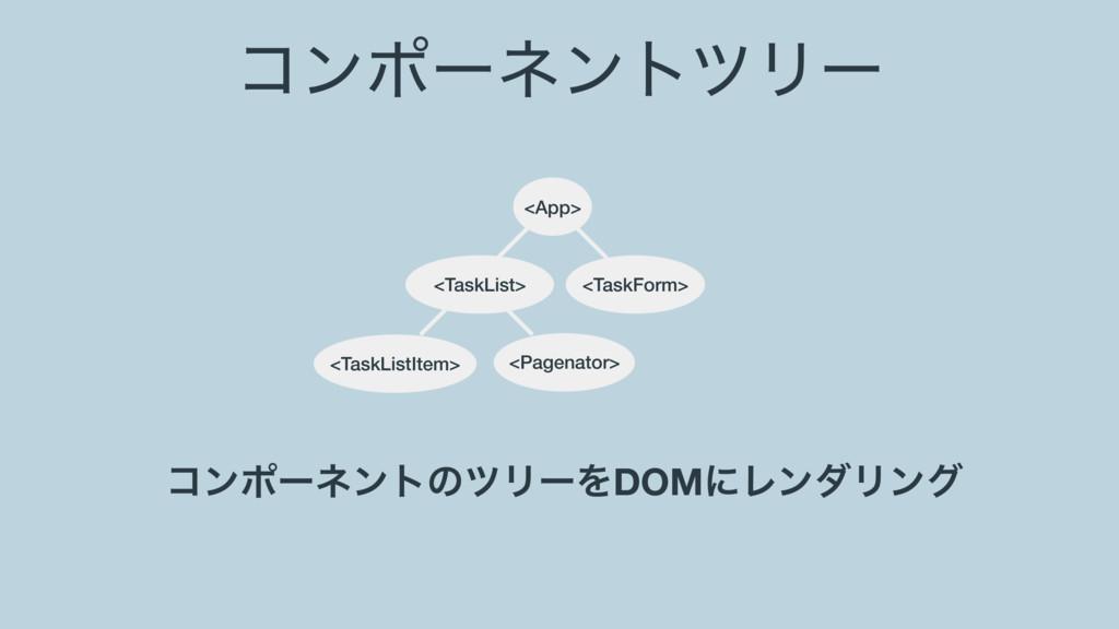ίϯϙʔωϯτπϦʔ <App> <TaskListItem> <TaskList> <Pag...