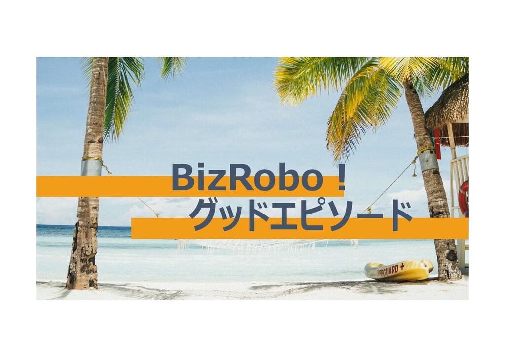 BizRobo! グッドエピソード