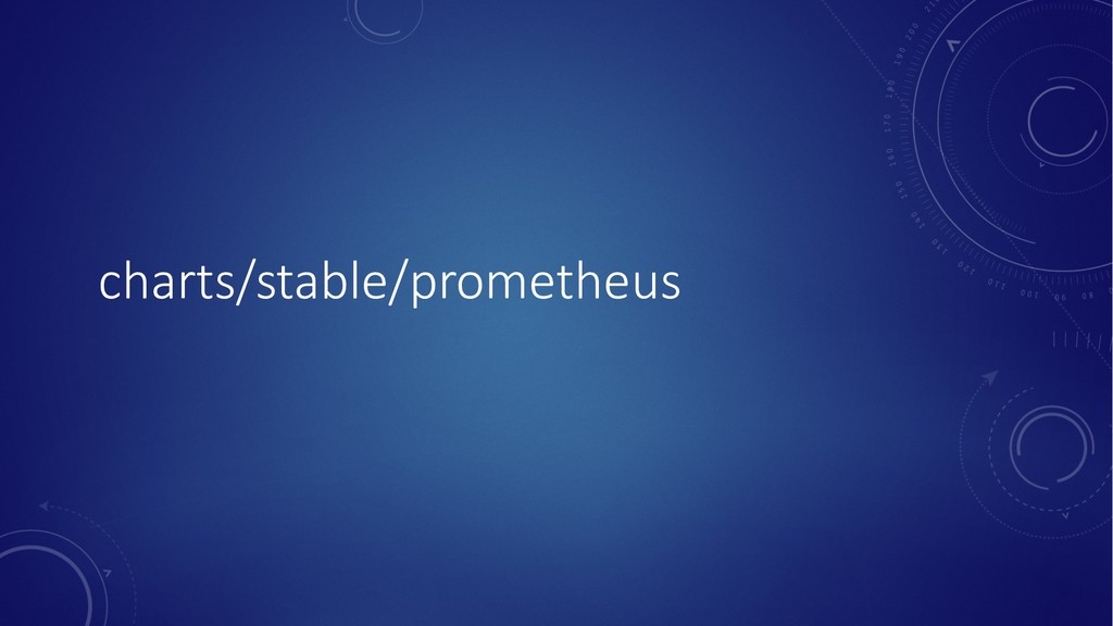 charts/stable/prometheus