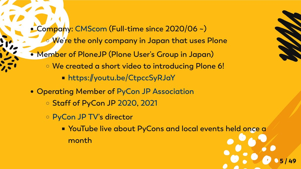 Company: CMScom (Full-time since 2020/06 ~) We'...