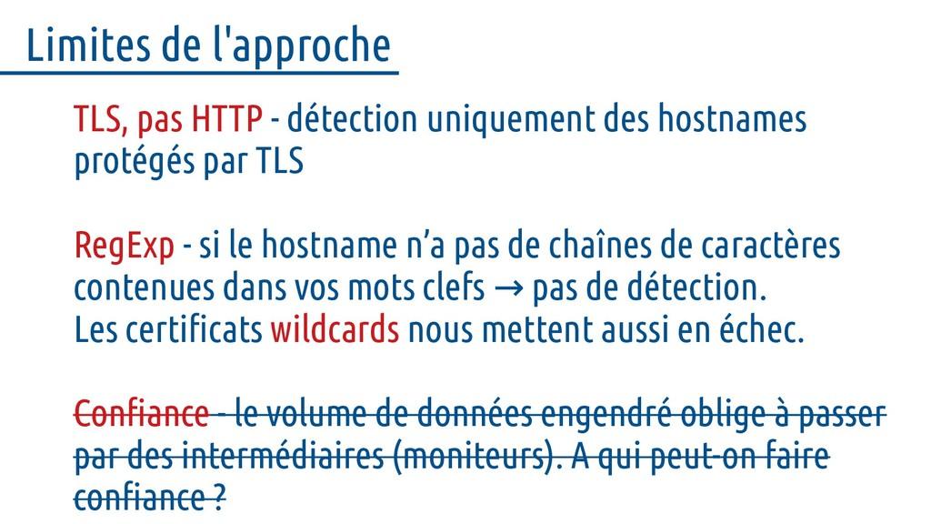 TLS, pas HTTP - détection uniquement des hostna...