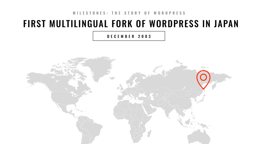 9 FIRST MULTILINGUAL FORK OF WORDPRESS IN JAPAN...