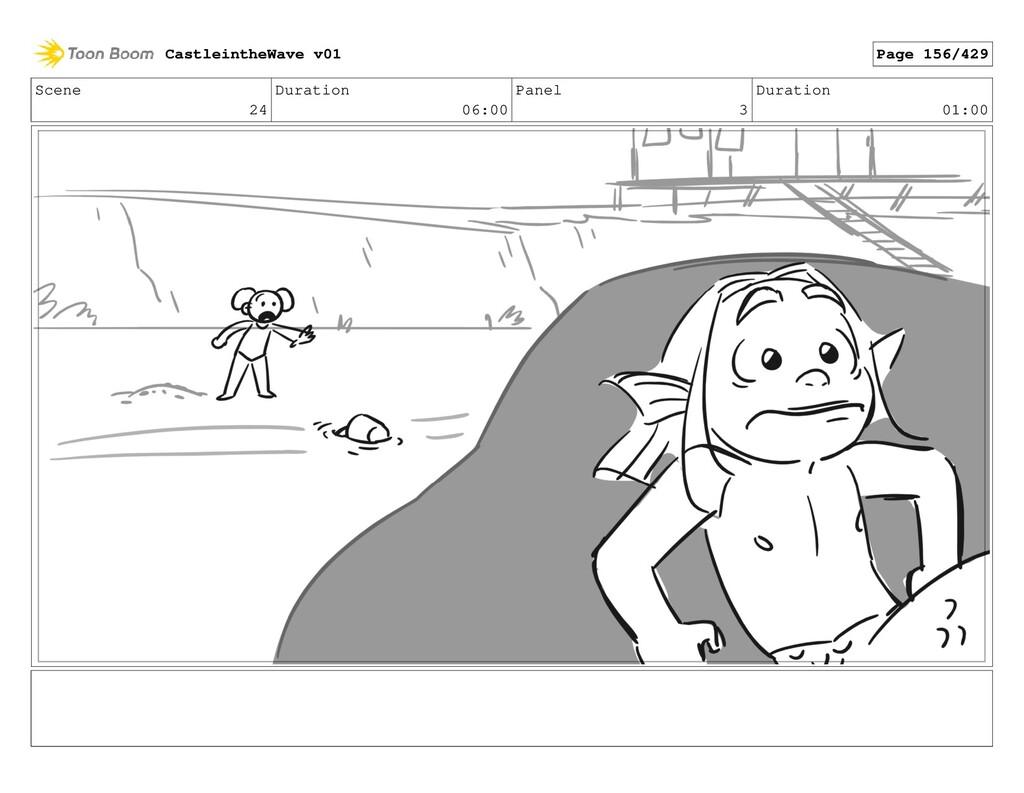 Scene 24 Duration 06:00 Panel 3 Duration 01:00 ...