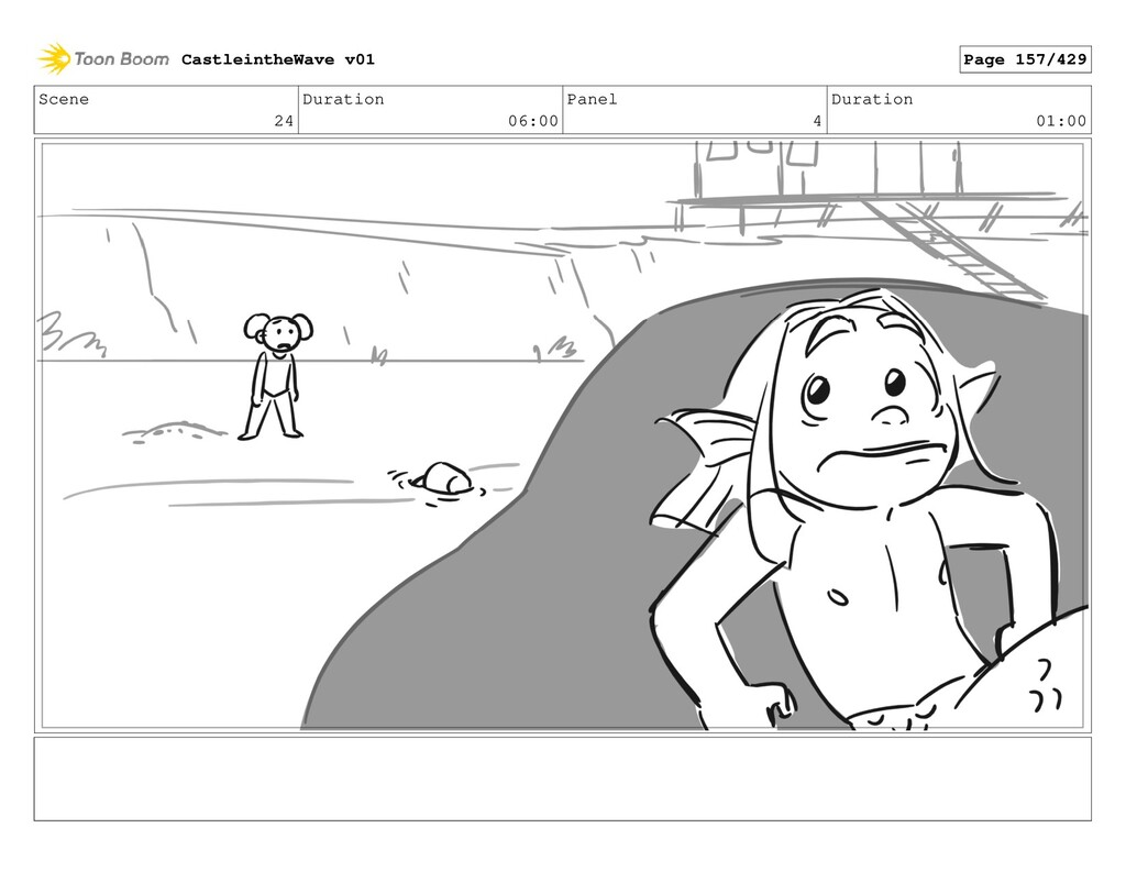 Scene 24 Duration 06:00 Panel 4 Duration 01:00 ...