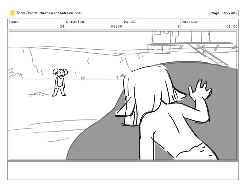 Scene 24 Duration 06:00 Panel 6 Duration 01:00 ...