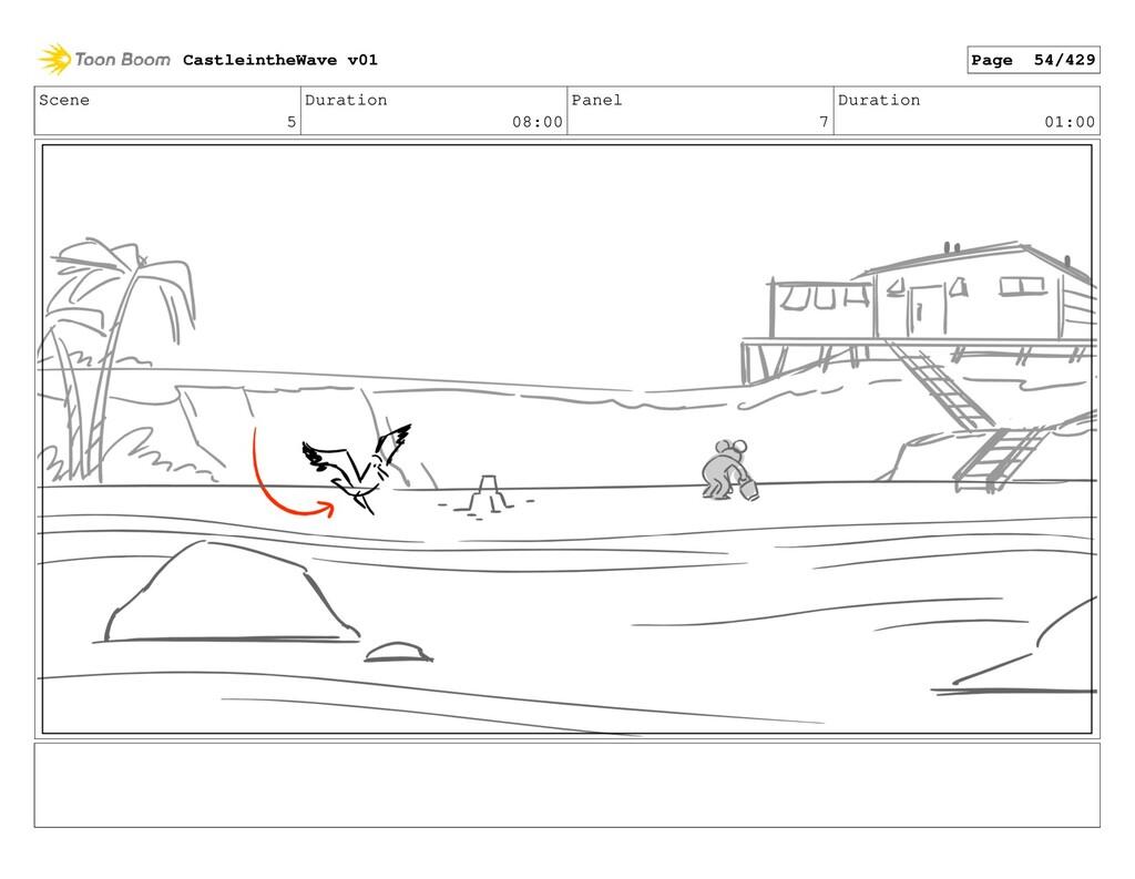 Scene 5 Duration 08:00 Panel 7 Duration 01:00 C...