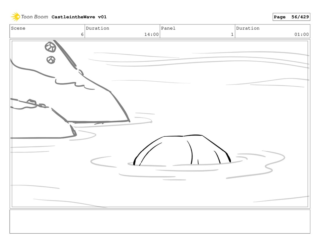 Scene 6 Duration 14:00 Panel 1 Duration 01:00 C...