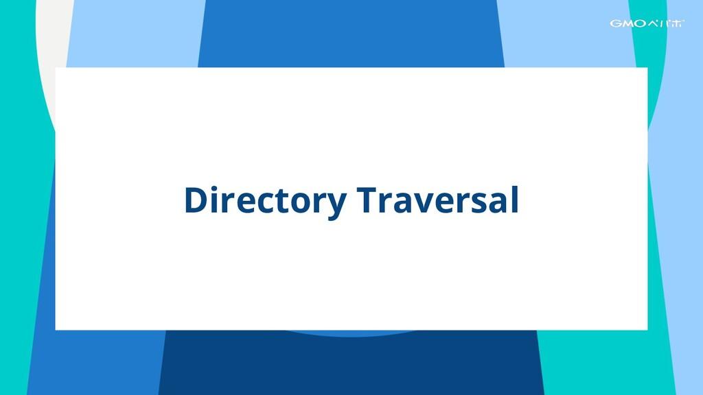 Directory Traversal