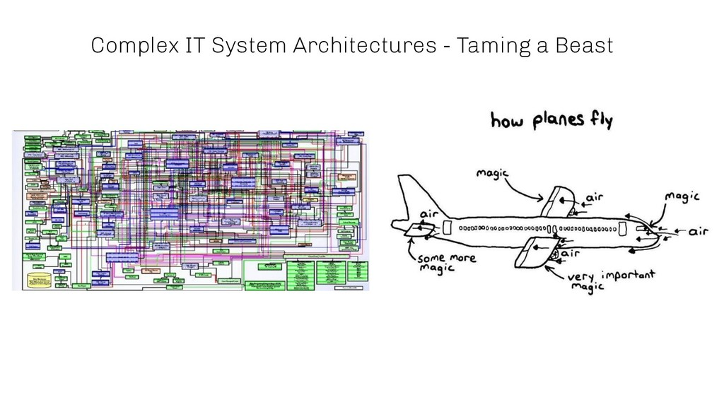 Complex IT System Architectures - Taming a Beast