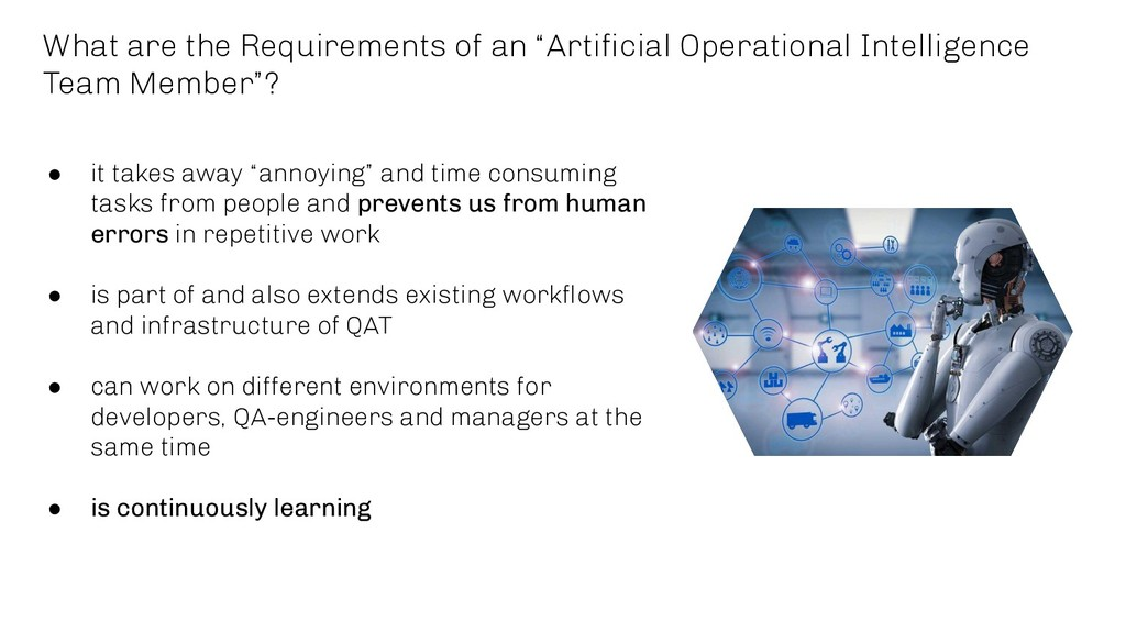 """What are the Requirements of an """"Artificial Oper..."""