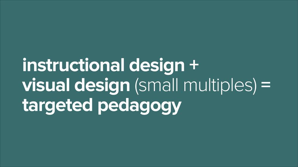instructional design +  visual design (small m...