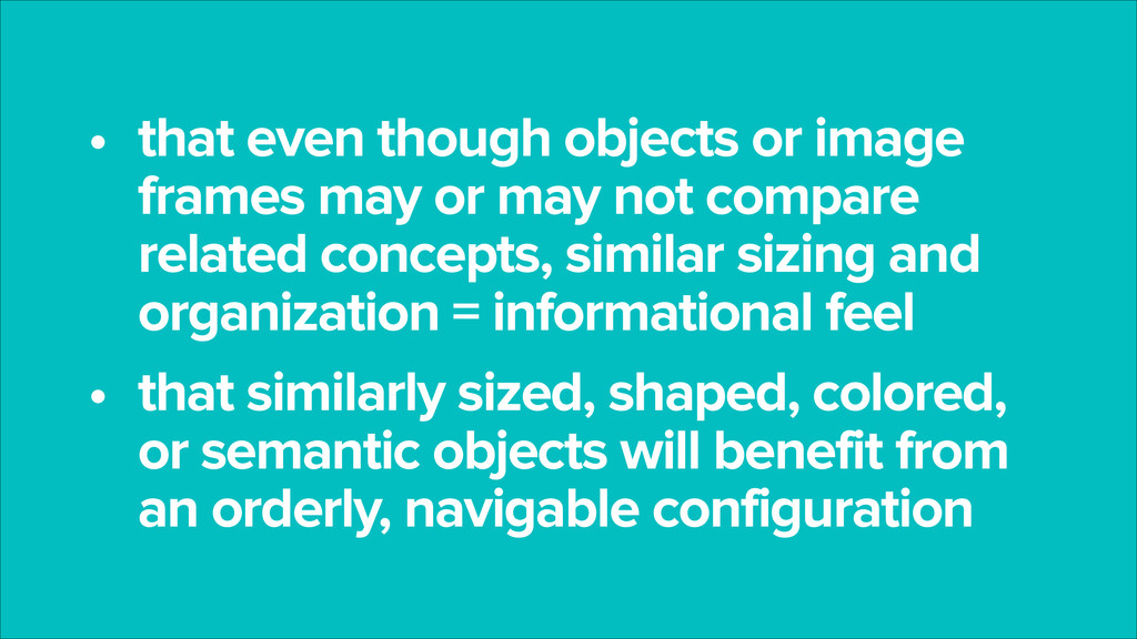 • that even though objects or image frames may ...
