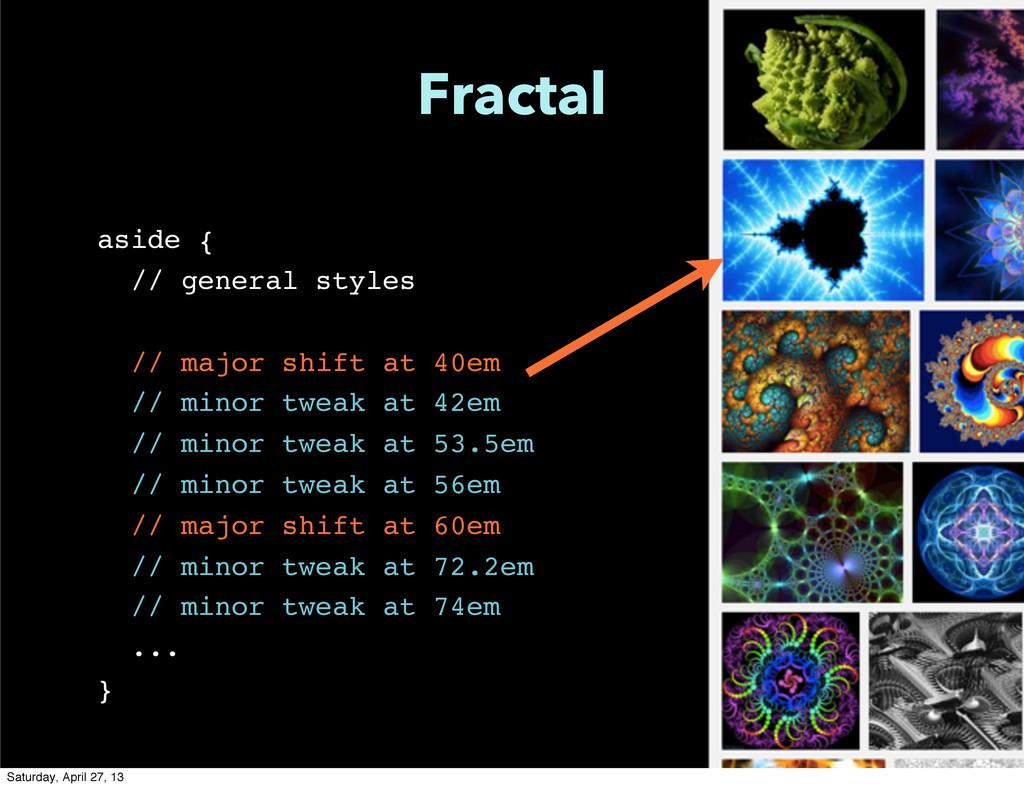 Fractal aside { // general styles // major shif...