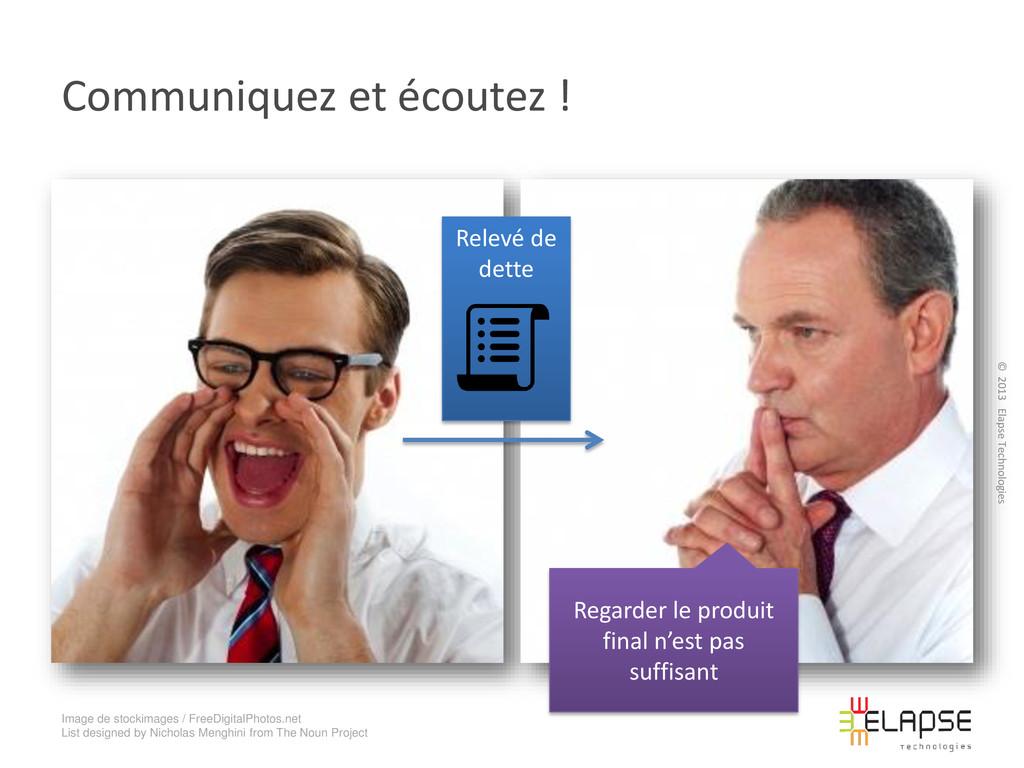 © 2013 Elapse Technologies Communiquez et écout...