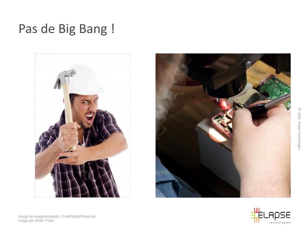 © 2013 Elapse Technologies Pas de Big Bang ! Im...