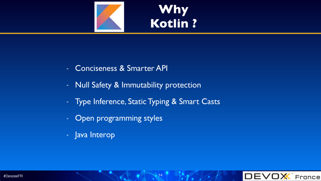 #DevoxxFR 14 - Conciseness & Smarter API - Null...