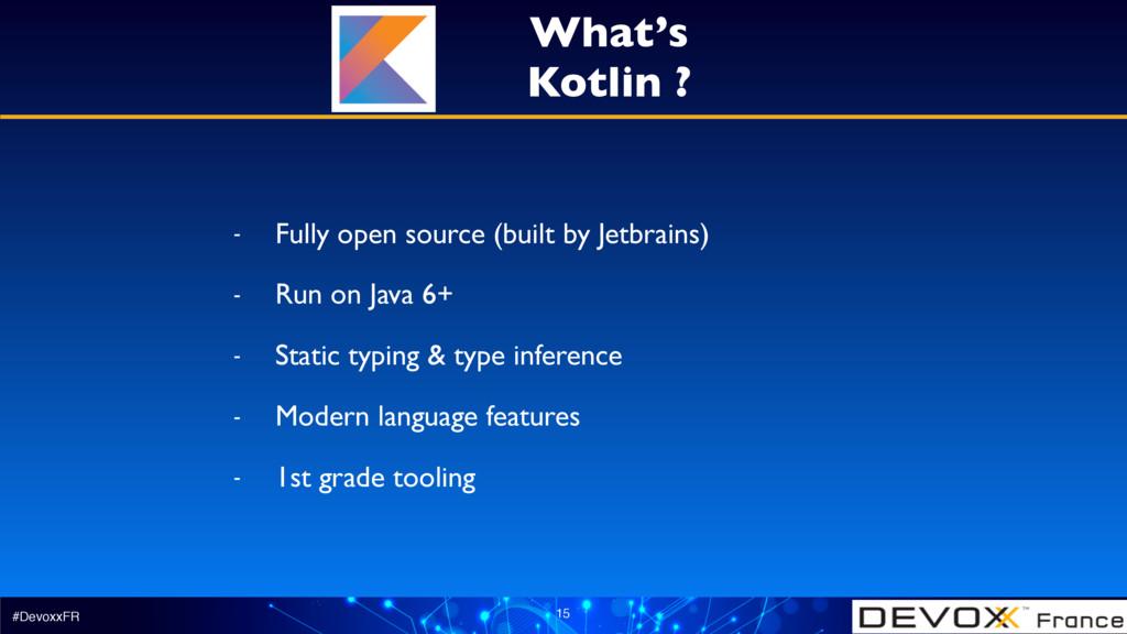 #DevoxxFR 15 - Fully open source (built by Jetb...