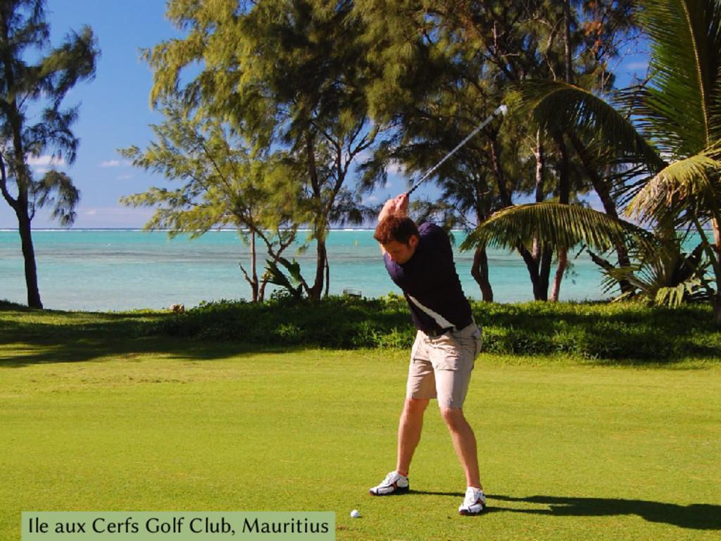 Ile aux Cerfs Golf Club, Mauritius