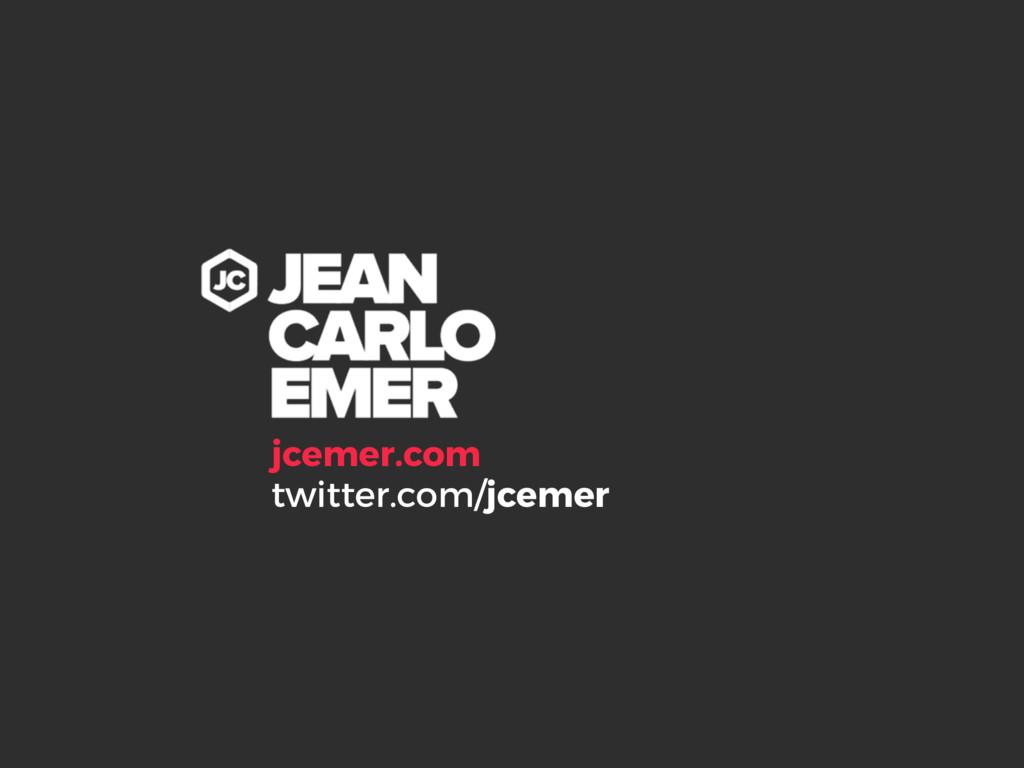 jcemer.com twitter.com/jcemer