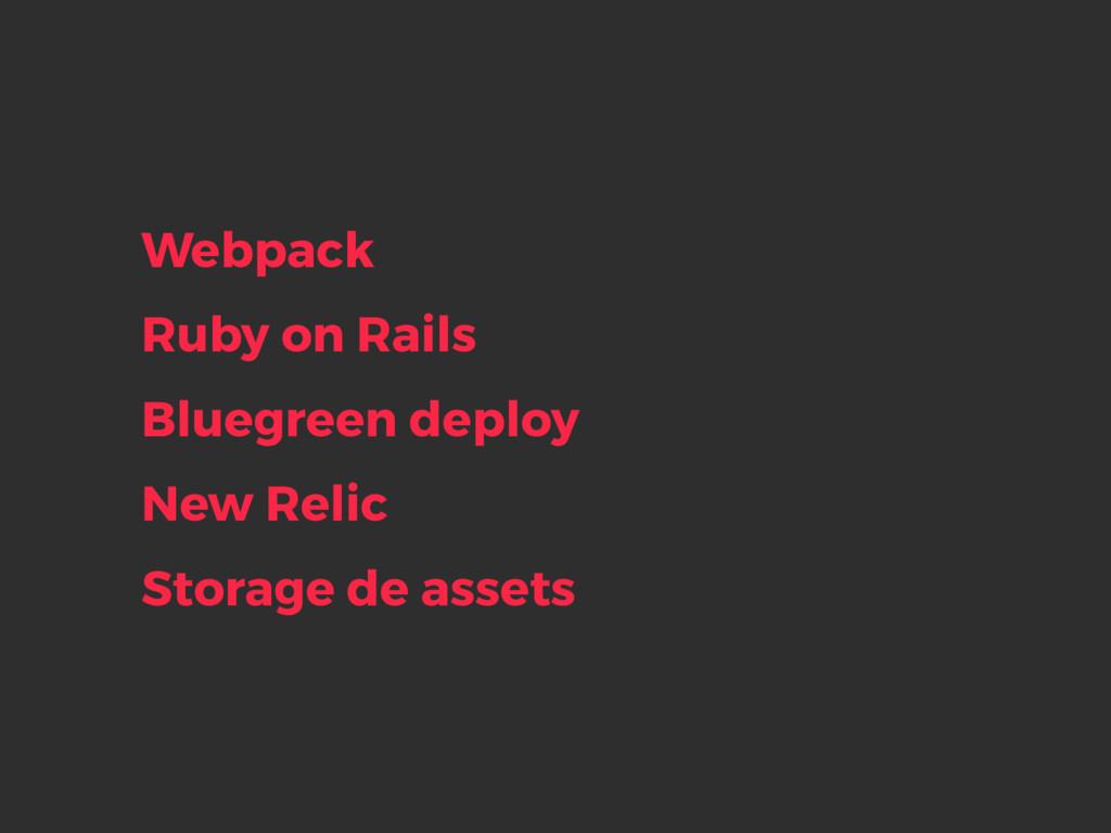 Ruby on Rails Bluegreen deploy New Relic Storag...