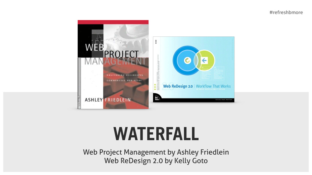 #refreshbmore WATERFALL Web Project Management ...