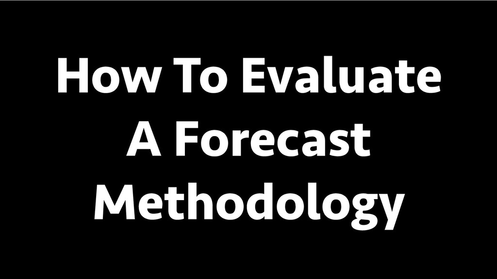 BREAK INTO DATA SCIENCE How To Evaluate A Forec...