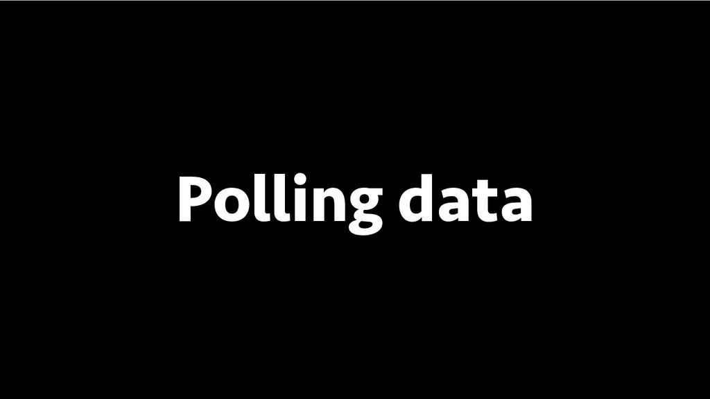 BREAK INTO DATA SCIENCE Polling data