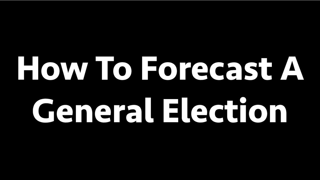 BREAK INTO DATA SCIENCE How To Forecast A Gener...