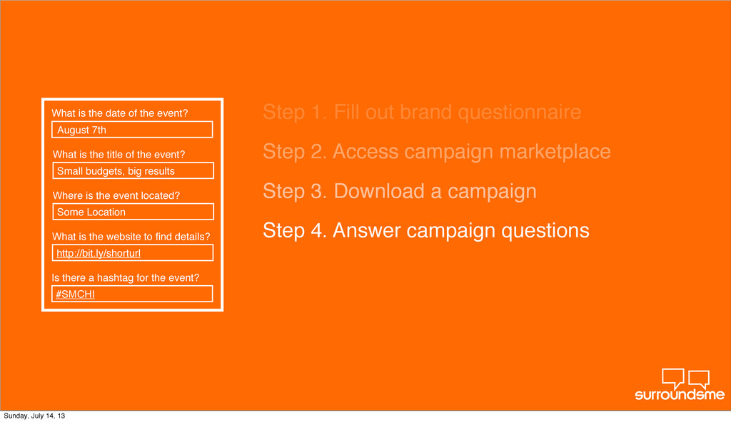 Step 2. Access campaign marketplace Step 3. Dow...