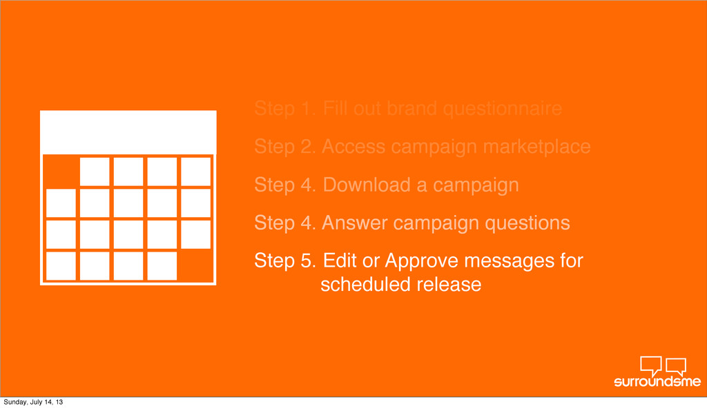 Step 2. Access campaign marketplace Step 4. Dow...