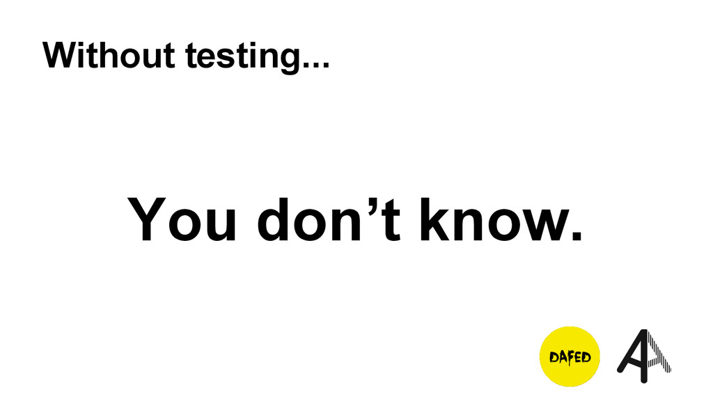 Without testing... You don't know.