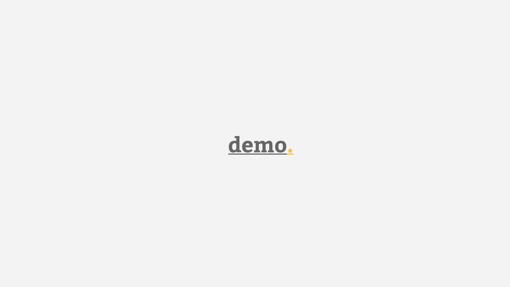demo.