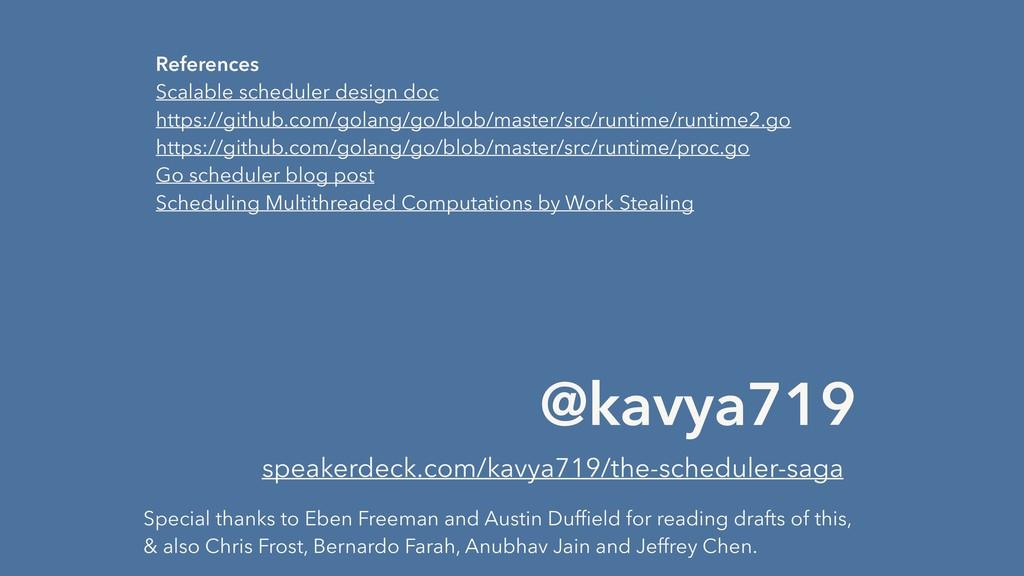 @kavya719 speakerdeck.com/kavya719/the-schedule...