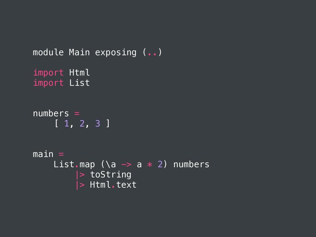 module Main exposing (..) import Html import Li...