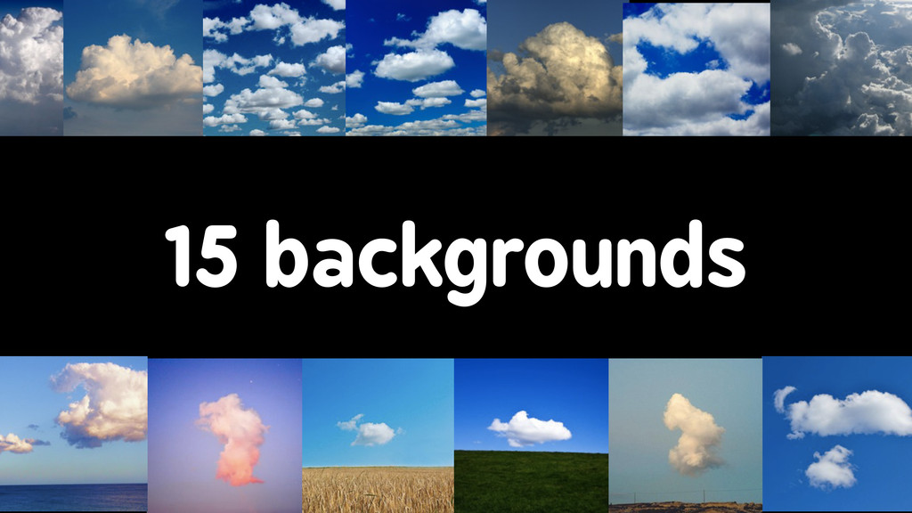 15 backgrounds